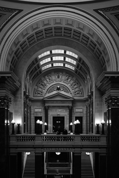 East Gallery of the Wisconsin State Capital.