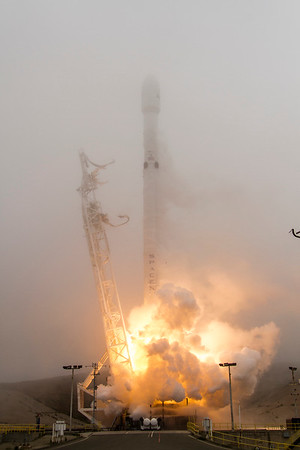 SpaceX Falcon 9 IRIDIUM NEXT-2 June 25, 2017