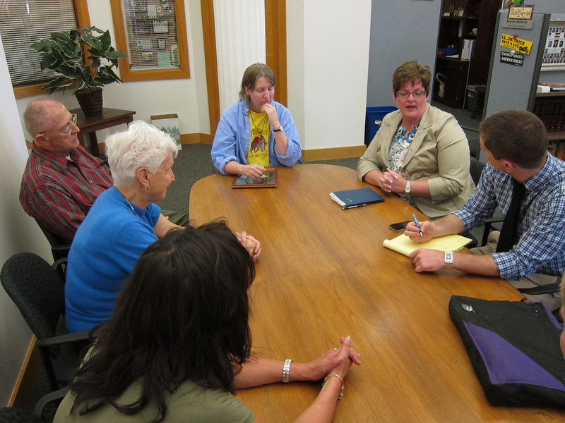 Speaking with Rep. Brian DelGrosso's legislative aide, as the Rep. was not available.