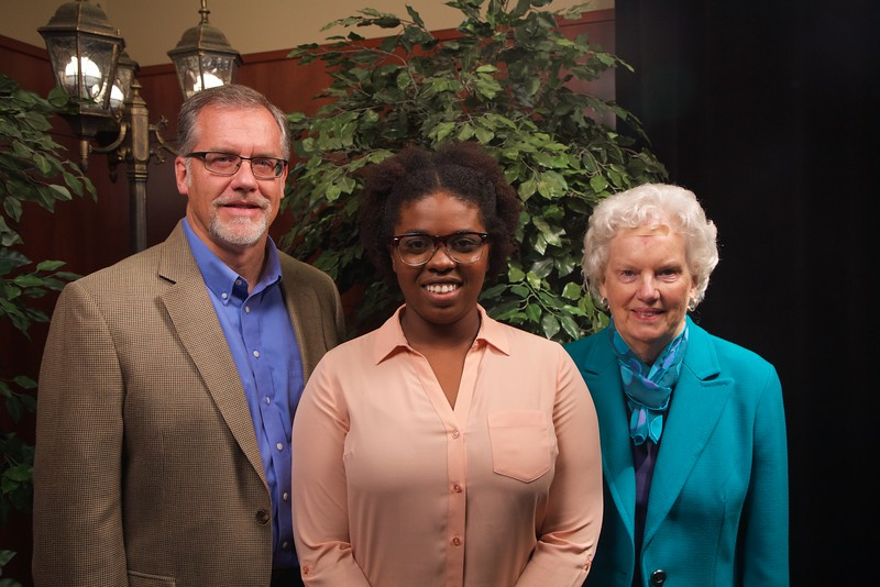 Scholarship Luncheon; Fall 2015. Brian McCulloch and Lou McCulloch-Perkins