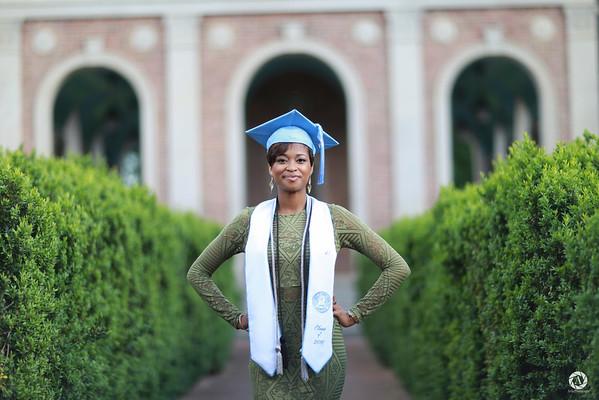 Katrice L. Mitchell UNC Graduation Shoot