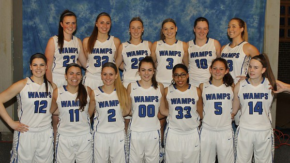 Lady Wamps Bball 2017-18 vs Central High