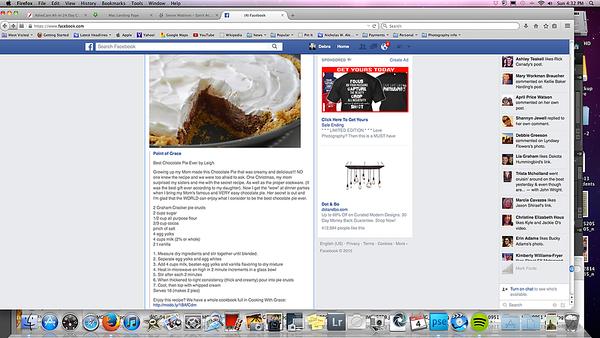 Recipes screenshots