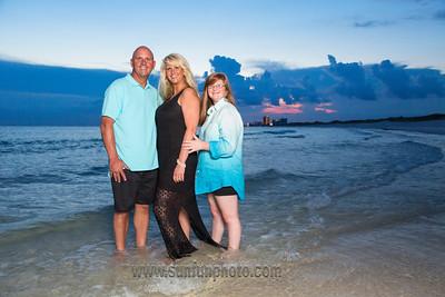 The Pirani Family Sunset Beach Photography on Panama City Beach