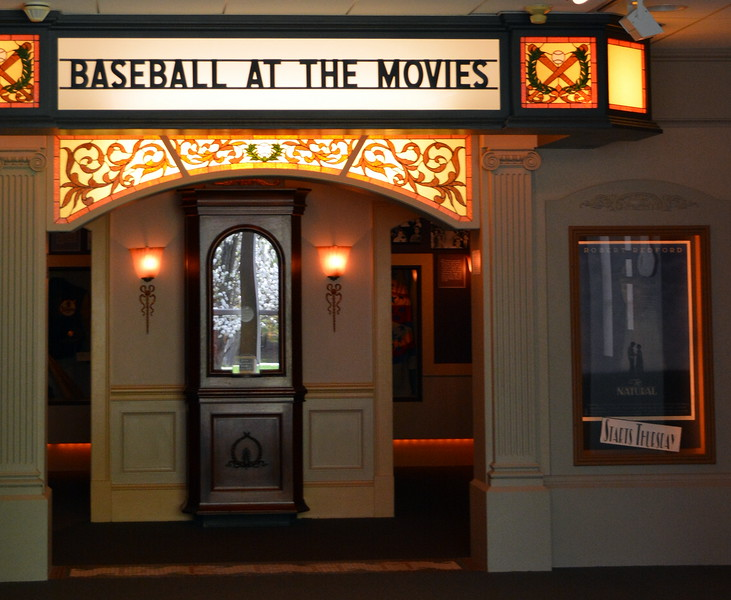 Baseball at the Movies Exhibit at the National Baseball Hall of Fame & Museum