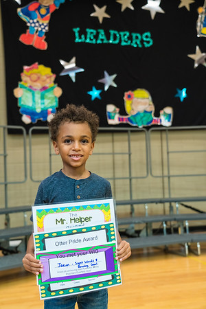 Jaxson's Kindergarten Awards Ceremony (6/21/18) Lake Myra ES