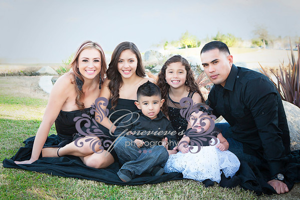 Marlene, Hector, and Family