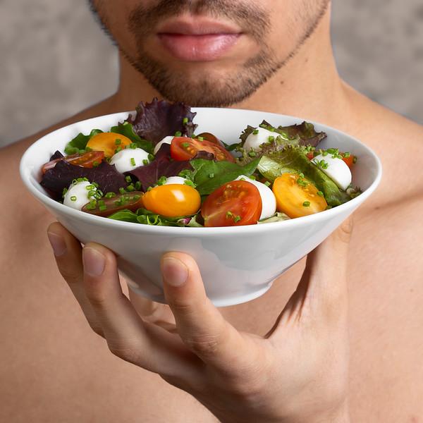 La salade tomate mozzarella