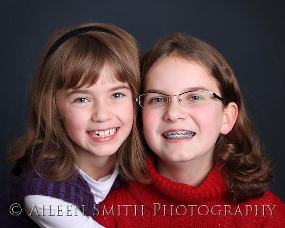 Claire & Laura Xmas 10