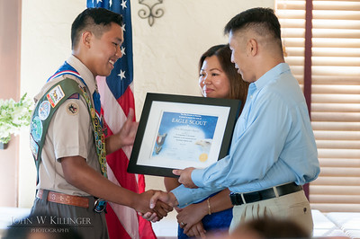 Eagle Scout Court of Honor - Troy Nueva