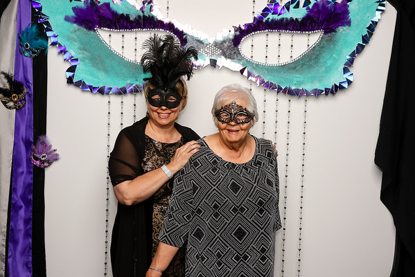 DSA Houston: New Year Eve's Masquerade Ball Photo Booth