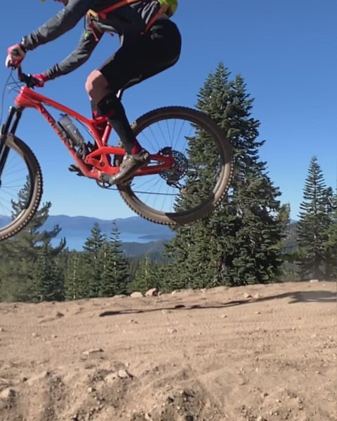 Tahoe Rim Trail Mt. Bike Ride
