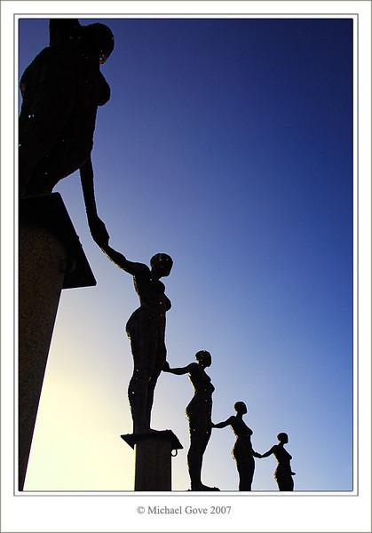 Metal sculptures in new Portishead park (73360470).jpg