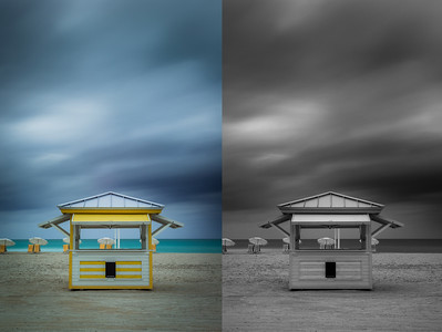 Miami Beach Huts