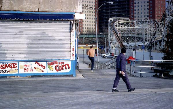 Coney Island Winter 2012