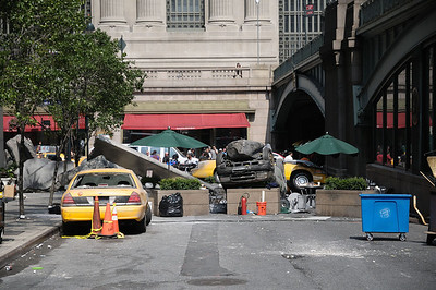 Avengers Movie Filming in NYC 9/4/2011