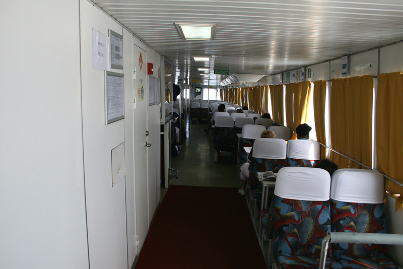 2008 - On board NAPOLI JET : main deck.