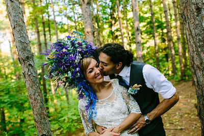 Anna and Darius, Wildfire Wedding, 2018