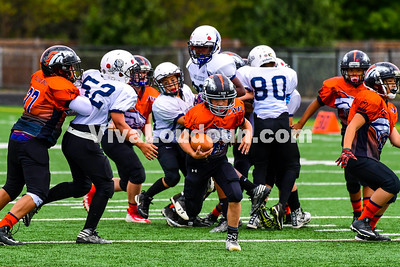 Youth Football: AYFL B-Broncos vs. LLBFL B-Lions 09.30.2017 (by Al Shipman)