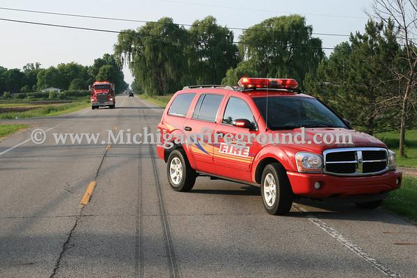 6/18/11 - Mason PI accident, Aurelius & Curtice