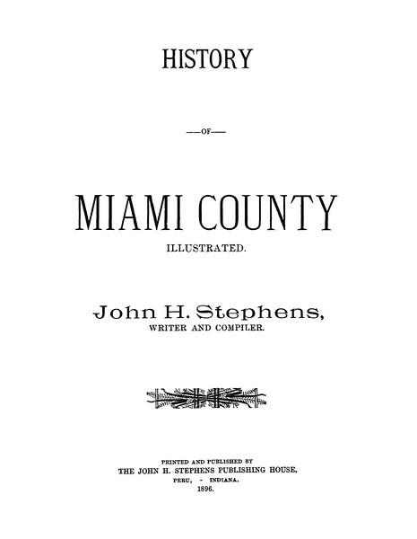 History of Miami County, Indiana - John J. Stephens - 1896_Page_001.jpg
