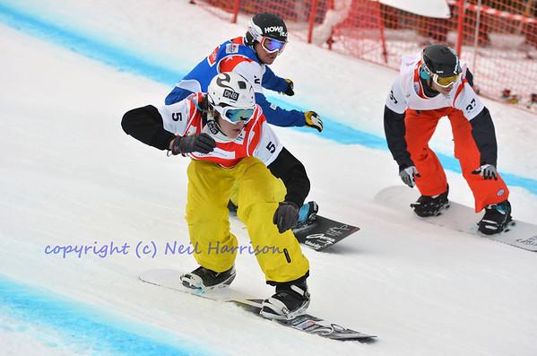 World cup Snowboard Cross 2012 Jan 19
