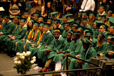 Kai Lemons Derby High Graduation May 20, 2017