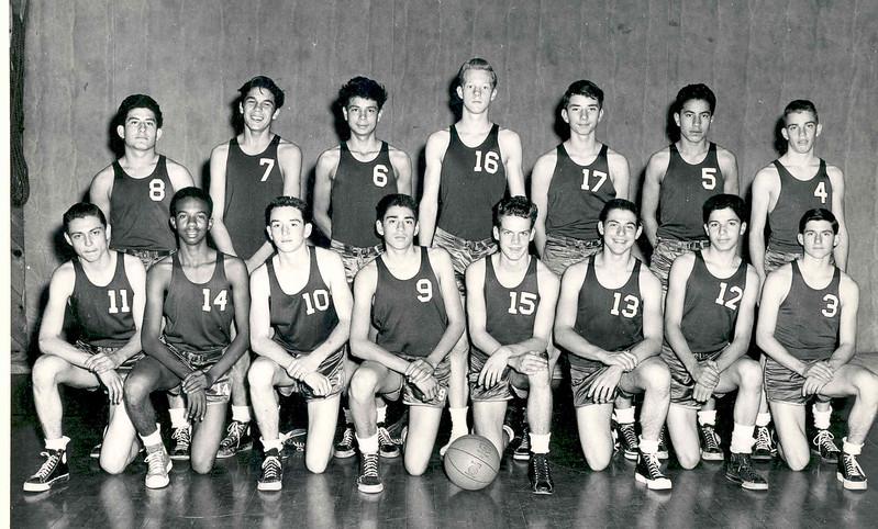 1950, Basketball B-Team