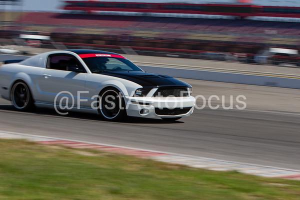Custom Gallery - White Ford Mustang Carbon Fiber
