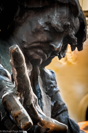 Humans, Horses, & Birds in Stone, Bronze, & Plaster