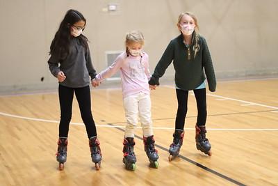 Skating at the Anchorage