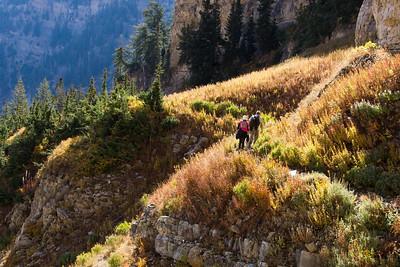 Timpanooke Trail Hike, Utah - September 2016