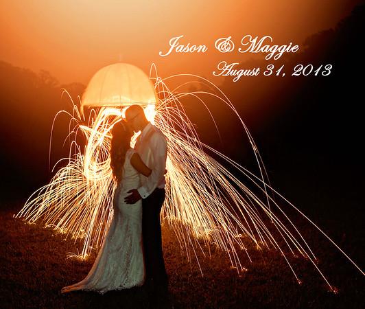 Maggie & Jason 13x11 Wedding Album