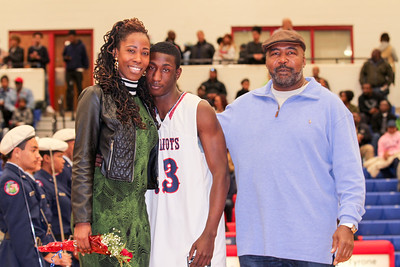 Sandy Creek Winter Senior Night 2018