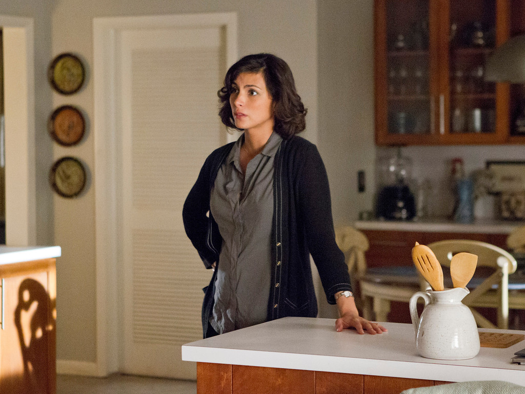 . Morena Baccarin as Jessica Brody in Homeland (Season 3, Episode 2). - Photo:  Jackson Lee Davis/SHOWTIME