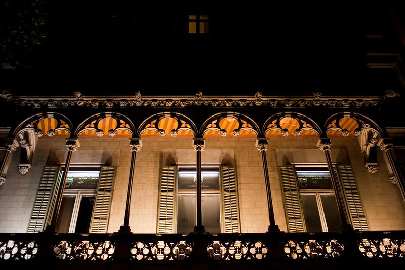 Edificio de la Escuela Universitaria de Turismo (Formatic) de Barcelona, en el Paseo de Gracia
