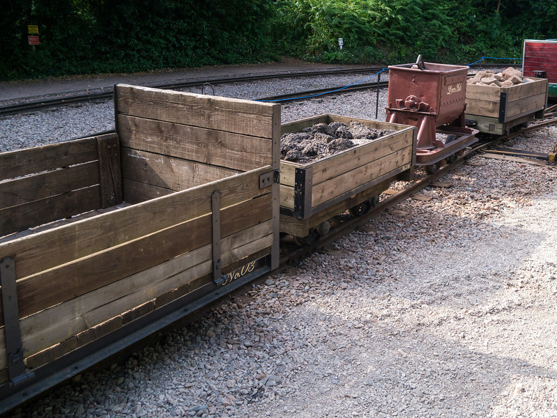 Some of the wagons he had to move