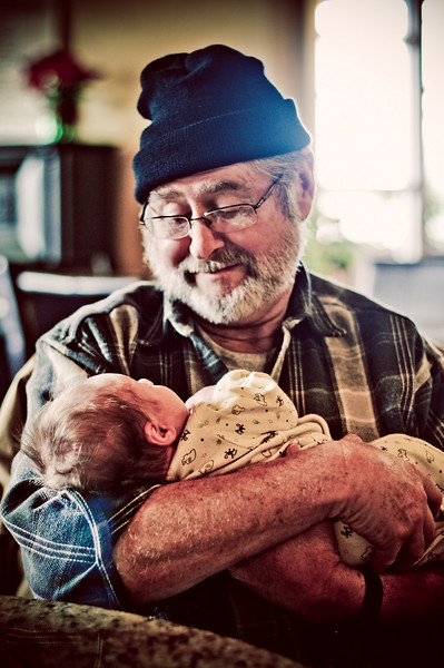My dad. My son. Photographer - Ryan Davis Photography, Rockford, IL