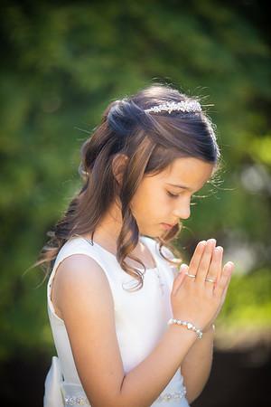 Isabella's 1st Holy Communion