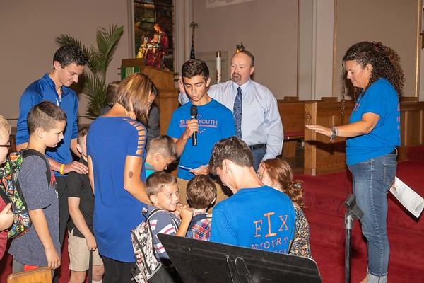 Backpack Blessing Sunday 08-18-2019
