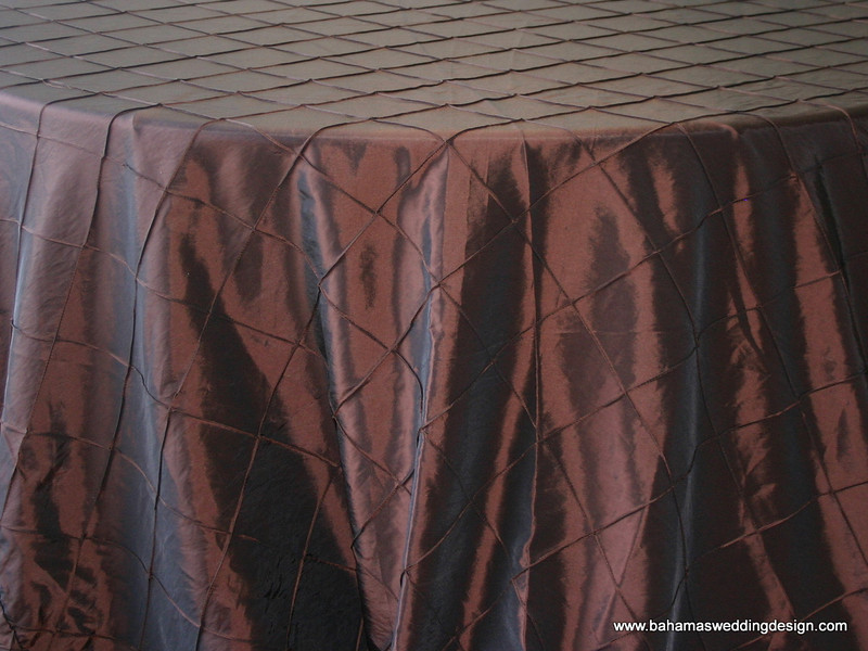"4"" Pintuck Taffeta - Chocolate