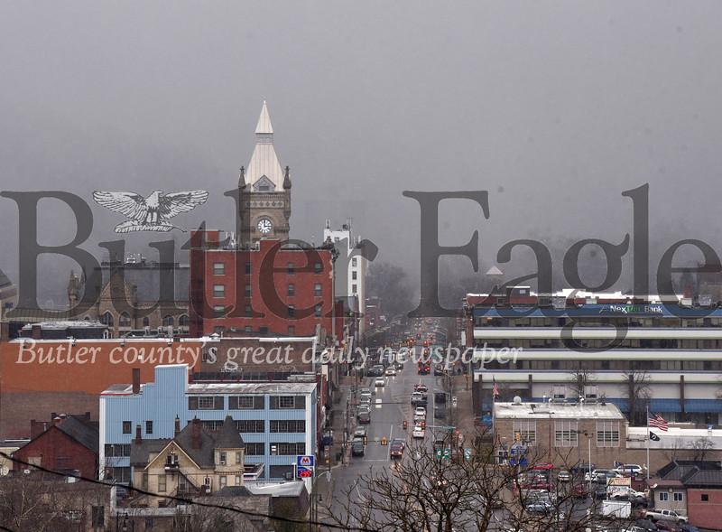 Harold Aughton/Butler Eagle: Winter returns to Butler County.