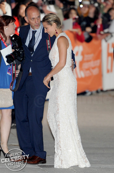 Chris Hemsworth And Wife Elsa Pataky Arrive At The Rush Premiere, Toronto