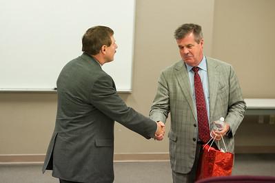 Mayor Dean Speaks to Massey Class 2014