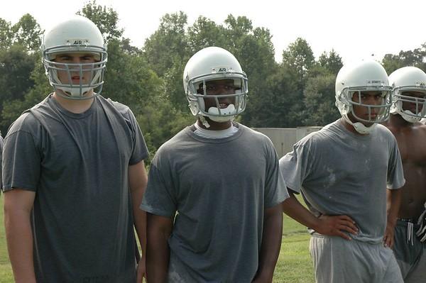 Varsity (PG) Football Practice