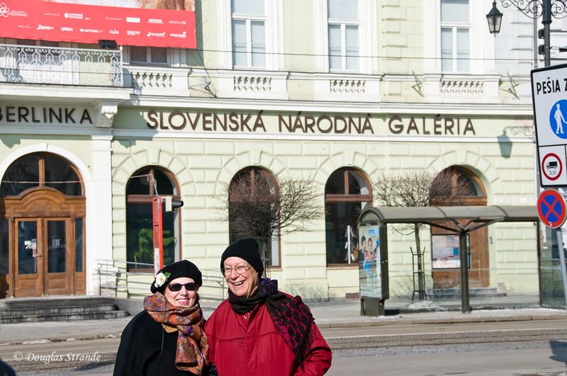 In Bratislava, Louise & Roberto