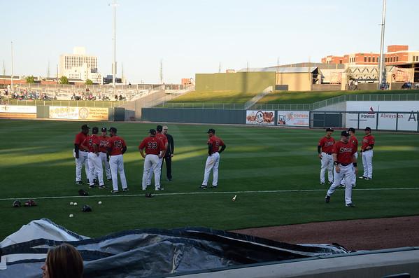 Birmingham Baron's Baseball game April 12, 2013