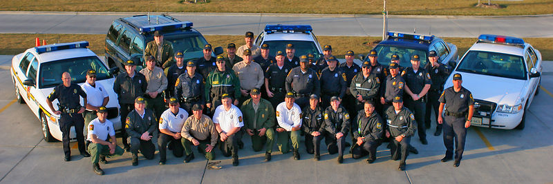 Virginia Law Enforcement Deployed for Katrina Relief (11/2-16/2005)
