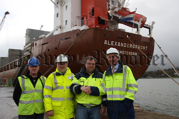 Largest Vessel to arrive at Warrenpoint Harbour