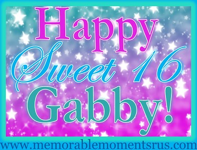 Gabby's Sweet 16
